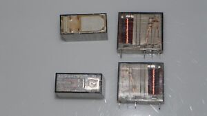 Relay Schrack 24 Volt 3 Amps 250 Volts Dpdt Qty Of 4 New Condition pn