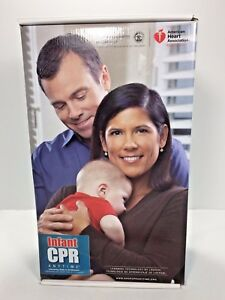 Aha American Heart Association Infant Cpr Anytime Training Kit With Baby Manikin