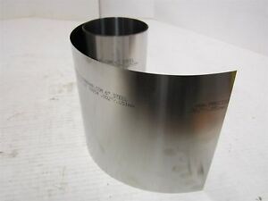 4 Precision Brand Shim Stock Roll Cold Low Carbon Steel 0 0020 Mfg 16195