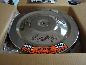 Carroll Shelby Signed Air Cleaner