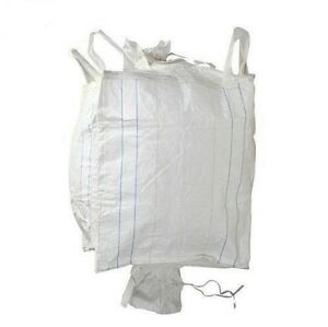 35 New Super Sacks Fibc Bulk Bags 39 X 39 X 77 Top And Bottom Spouts