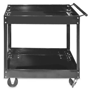 Steel Core 300lb 30in X 16in 2 shelf Heavy Duty Steel Service Tool Cart