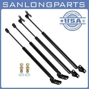 Qty 4 Lift Support Shocks For 1999 2003 Lexus Rx300 Front Hood Hatch Liftgate