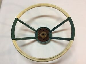 1959 1960 Lincoln Continental Steering Wheel Original Vintage