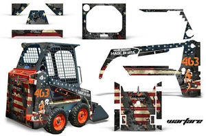 Graphics Kit Decal Wrap For Bobcat Skidsteer Mini Loader Skid Steer Ww2 Bomber