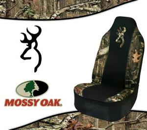 Spg Universal Browning Realtree Mossy Oak Seat Cover For Cars Trucks And Suv S