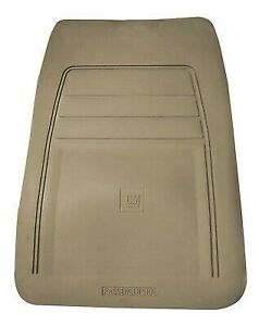 New Oem Genuine Vinyl Floor Mat Tan Passenger Side W Logo Gm Trucks 1990 1999