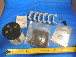 Electroswitch Corp Rotary Kw25 2203c4 For Clausing Milling Machine In Box