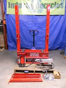 Sunex Hd 40 Ton Air Hydraulic Shop Press 5740ah 1 To 40 Ram To Table Repair