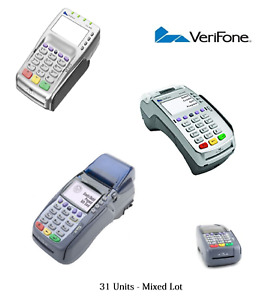 31x Verifone Terminals Omni 3750 Vx570 Vx520 Vx805 Mixed Lot