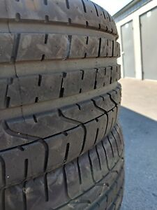 Set Of Two Pirelli P zero Nearly New Tires 99 Tread P245 40r20 99y