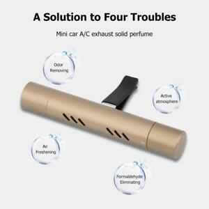 Car Scent Air Freshener Auto Air Conditioning Outlet Vent Clip Solid Perfume New