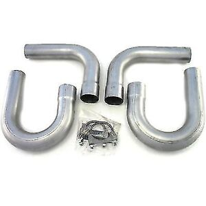 Patriot Exhaust H7402 Side Pipe Universal Hookup Kit 2 5 Inlet outlet