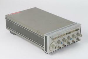 Hp 3312a Function Generator Damaged Power Button