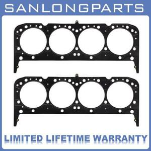Multi Layer Steel Pair Of Head Gaskets Fits Chevy 350 383