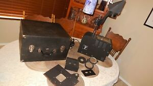 Charles Beseler Overhead Projector 6800 Series With Case 1940 s Era Vintage