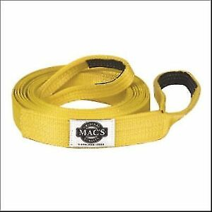 Macs Tie Downs 128020 Recovery Strap 2 X 20 Ft yellow 17 000 Lb Capacity