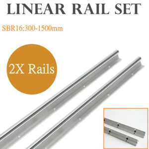 2xsbr16 Linear Bearing Rail L300 1500mm Supported Linear Rail For Cnc Machine Us