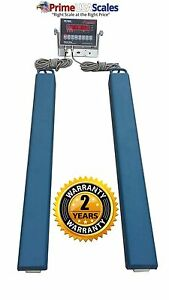 40 Load Bar Scale 5 500 Lb Livestock Scale Preifert Chute Weigh Bars