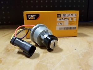 Genuine Cat Key Start Switch Assembly Multiple Applications 467 8535 New