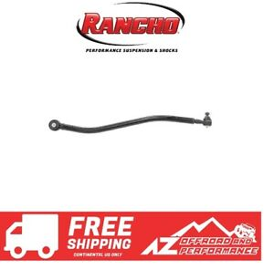 Rancho Front Adjustable Track Bar 97 06 Jeep Wrangler Tj W 2 5 Lift Black Pc