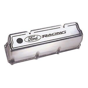 Ford Racing M 6582 Z351 Polished 4 Tall Valve Covers 302 Boss 351c 351m 400