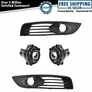 Fog Light Lamp Bezel Kit Set Of 4 For 06 11 Chevy Impala Lt Ltz New