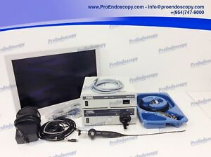 Karl Storz 22200020 22220130 20131520 11101rp2 Flexible Scope Set W Monitor