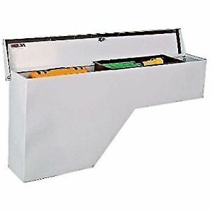 Delta 850000d White Steel Wheel Well Toolbox With Tray 48 X 8 X 21 75