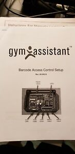 Gym Assistant Barcode Access Control System magnetic Door Lock Electronic