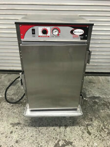 Insulated Half Height Heated Warmer Cabinet Nsf Bevles Work Top 9074 Commercial