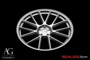 Avant Garde 22 Vanquish Silver Concave Wheel Rims Fits Dodge Charger Rt Se Srt