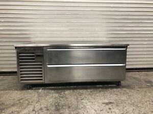 60 Refrigerated Chefs Base Equipment Stand Cooler Traulsen Te060ht 9096 Nsf