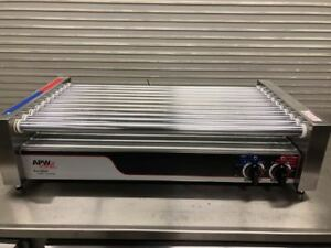 Hot Dog Roller Grill Display Broiler Apw Wyott Hr 50 9103 Nsf Usa Cooker