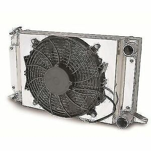 Afco Racing Products 80104nfan Electric Fan And Aluminum Shroud Kit