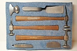 Snapon 7 Piece Body Tool Set Panel Beaters Kit Hammers