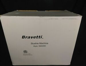 New Bravetti Slushie Maker Model Sm409h Frozen Drink Maker