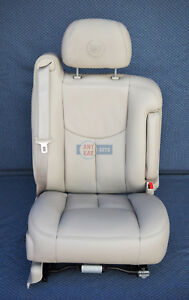 2003 2004 2005 2006 Escalade Passenger Side Cashmere Leather Power Seat