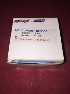 Katy Instruments A c Current Sensor 420 L 150 Riley Corp Sales New In The Box