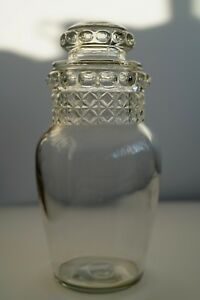 Vintage Drugstore Glass Apothecary Jar 10 Tall