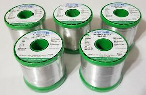 5lbs Silver 3 Sac305 Alpha Solder 032 96 5 sn 3 ag 5 cu No Clean 159083 New