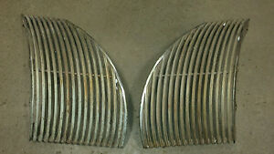 1939 Cadillac Lasalle Drivers And Passengers Side Grills Pair
