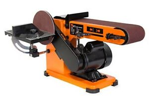 Belt Disc Wood Sander Bench Top Combination Electric Workshop Combo Machine Pro