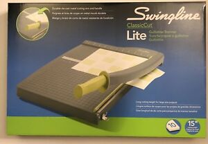 Swingline Paper Trimmer Cutter Guillotine 12 Cut Length 10 Sheets Lite Of