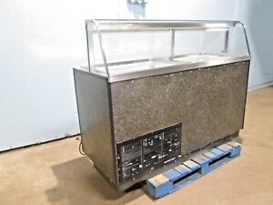 carrier Ckdc 67 Hd Commercial nsf 12 Tubs Ice Cream Freezer Dipping Cabinet