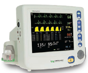 Criticare Ngenuity Patient Monitor 8100ep1 W Co2 And A Printer
