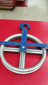 12 Aluminum Hoist Pulley Wheel For Scaffolding Lifting Or Lowering