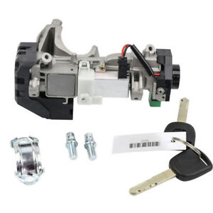 Ignition Switch Cylinder Lock Auto Trans Fit 2003 2007 Honda Accord W 2 Keys Hot