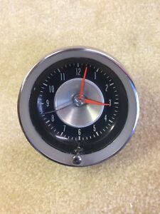 1963 Corvette Clock Original Movement Works Great 63