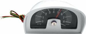 1960s 1970s Hood Tachometer Dixco Style 8000 Rpm 8 Cylinder Only Pontiac Chevy